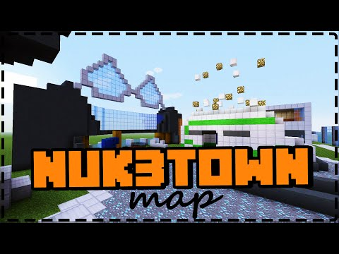 NUK3TOWN MAP (detailed) Minecraft (PS4) | Black Ops 3 | Kkey