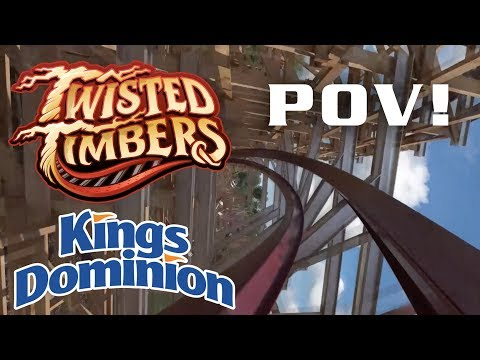 Twisted Timbers - Kings Dominion Official POV Animation