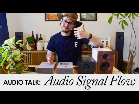 How To Set Up A Home Audio System || Home Audio Signal Flow