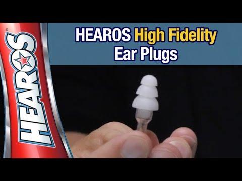 HEAROS Ear Plugs High Fidelity Series