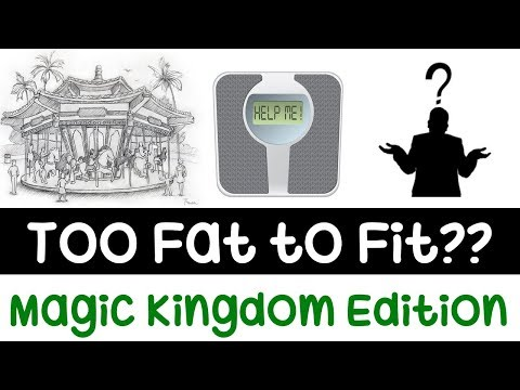 Too Fat to Ride Disney Attractions? | Magic Kingdom Edition 2018