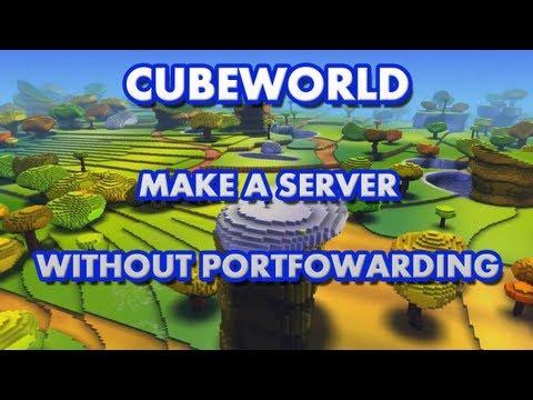 How to setup a Cube World Server - With Hamachi - No Portfowarding - Easy!