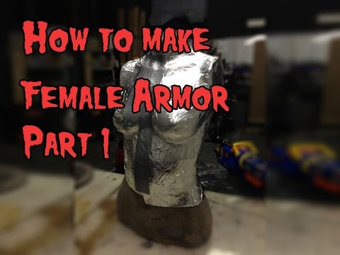 How to Make Female Cosplay Armor, Tutorial Part 1