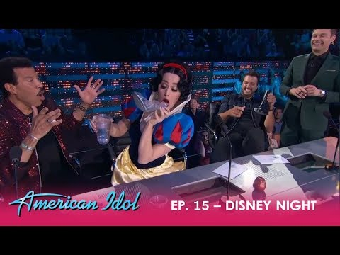 Katy Perry Drinks Out Of Her SHOE Causes A Scene On Disney Night!