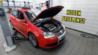Everything Wrong with the UK's Cheapest VW GOLF R32!