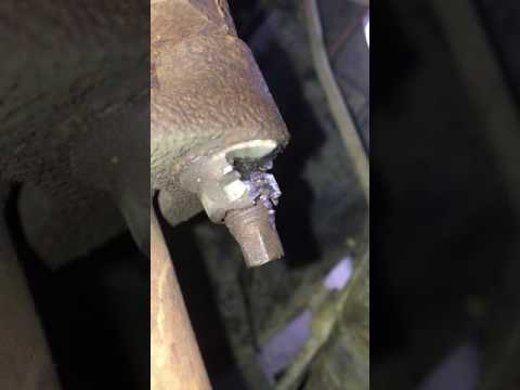 Exhaust Manifold Nut Removal