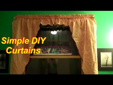How to Make Simple Curtains Part 1: Cutting