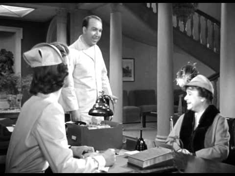 Miss Kelly (Peggy Dow) appears in 'Harvey' (1950)