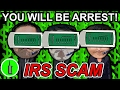 The Dumbest IRS Scammer Script I've Ever Heard - The Hoax Hotel