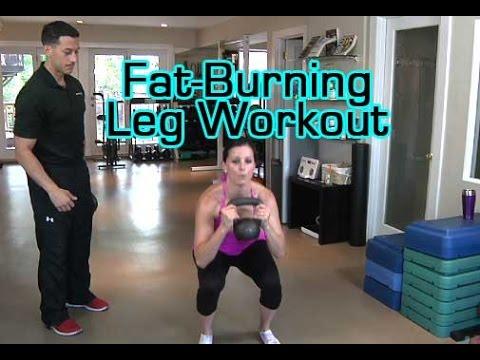 Fat-Burning Leg Workout