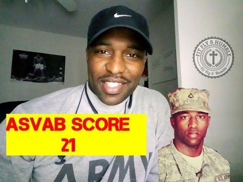 ARMY ASVAB SCORE 21