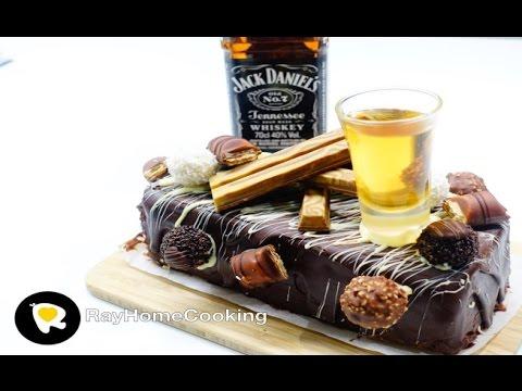Jack Daniel's Chocolate Cake - Birthday Cake Edition!!