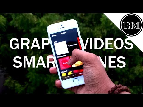How to Make Animated/Graphic Videos on Smartphone(For Facebook)-iOS Edition
