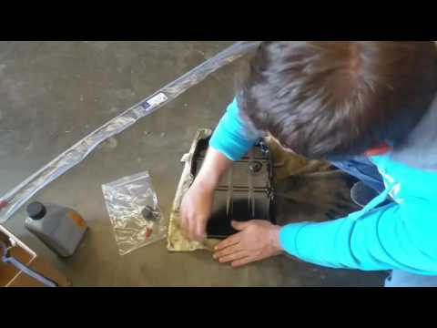 MERCEDES E-CLASS AUTOMATIC TRANSMISSION ATF FLUID & FILTER CHANGE FLUSH, TOPOFF. STEP BY STEP.