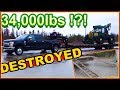 THIS One MISTAKE Took Down My ENTIRE COMPANY--- Ford F-350 Pickup Tows 35,000Ibs!!! Powerstroke 6.7