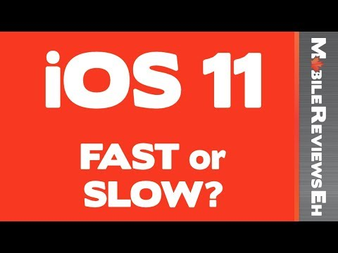 Does iOS 11 Slow your iPhone down? iPhone 6 / 6s / 7 Speed Tests