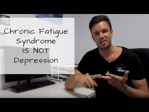 Chronic Fatigue Syndrome is not Depression