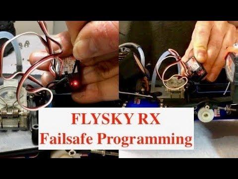 FlySky Receiver Failsafe Mode Programming.