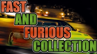 Fast and Furious diecast car collection (1/18 scale) 2015