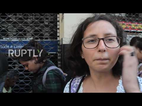 Brazil: Rio on high alert for yellow fever, hundreds queue for vaccinations