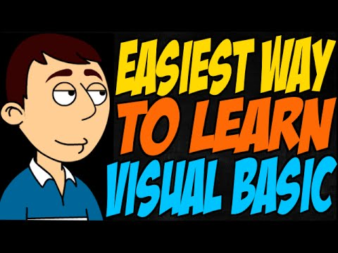 Easiest Way to Learn Visual Basic