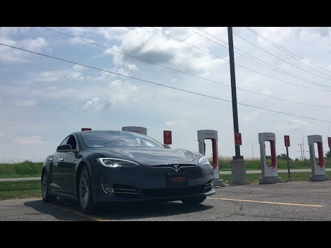 Toronto to Montreal in a Tesla with AUTOPILOT