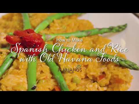 How to make Spanish Chicken and Rice with Old Havana Foods
