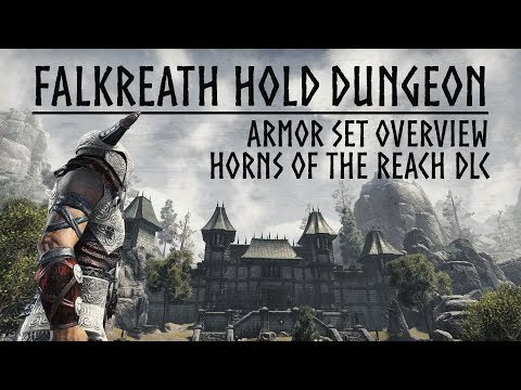 ESO Horns of the Reach - Falkreath Hold Dungeon Armor Set Overview - the Elder Scrolls Online