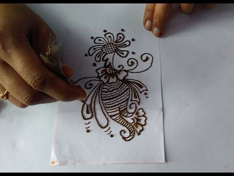 How to make simple and easy mehndi design  beautiful mehndi design  easy mehndi design tutorial 8