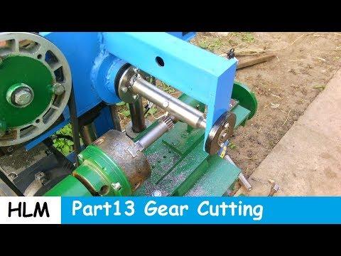 Homemade milling machine part 13