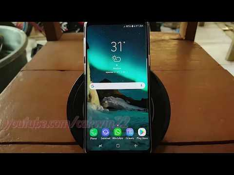 Samsung Galaxy S9 : How to Enable or Disable Show and hide button in Navigation Bar (Android Oreo)