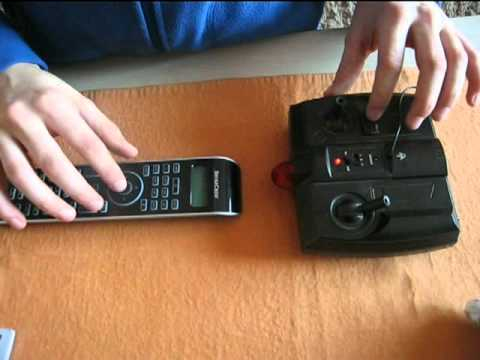 Controlling RC helicopter with universal remote controller