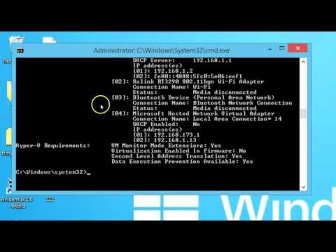 How to Check System Configuration using Command Prompt on Windows 8 7 Computer