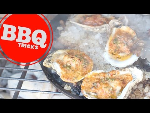 Fire Roasted Oysters | Barbecue Tricks