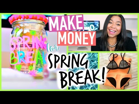 4 Ways to make Money This Summer! On the Internet