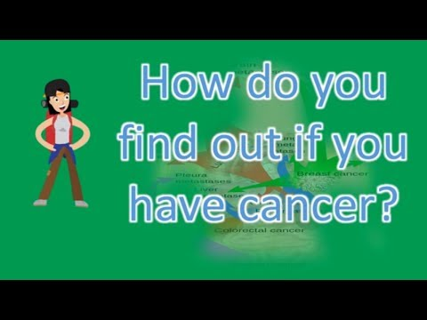 How do you find out if you have cancer ? |FAQS on Health