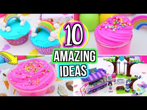 10 FUN Things To Do When You're BORED! DIY Slime,  DIY ROOM DECOR! What To Do When Your Bored!