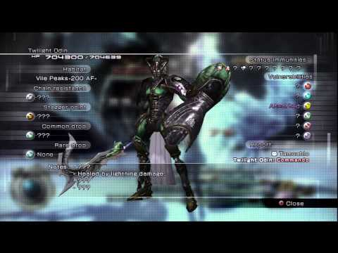 Let's Play Final Fantasy XIII-2 part 30 Twilight Odin