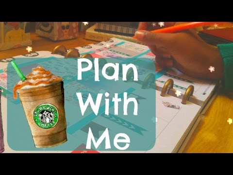 Plan with Me | The 365 Happy Planner 2016 | StarBucks Theme