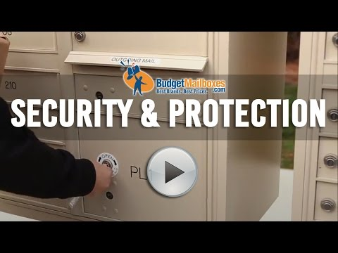 Florence Manufacturing | Security & Protection for Cluster Mailboxes | Budget Mailboxes
