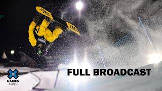 Wendy's Snowboard Knuckle Huck: FULL BROADCAST | X Games Aspen 2020