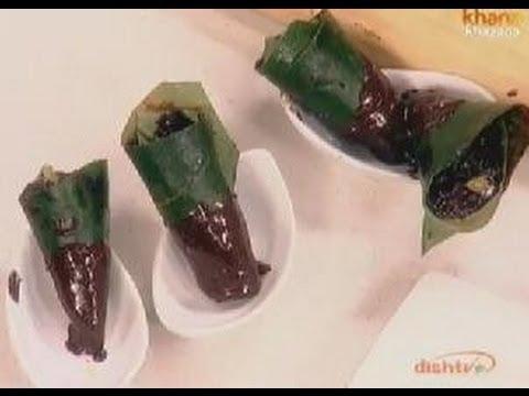 Chocolate Paan Rolls - Sanjeev Kapoor - Khana Khazana