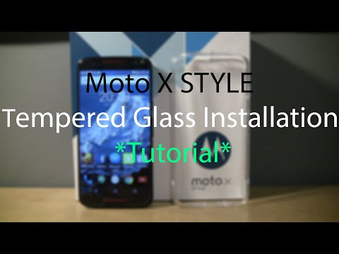 Moto X Style/ Pure Edition *Easiest* Tempered Glass Installation Tutorial