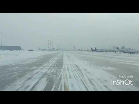 ATR72 Landing Sofia, Bulgaria