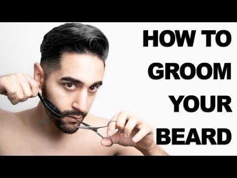 How To Shape And Trim Your Beard (Men's Grooming)  ✖ James Welsh