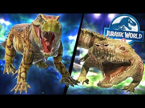 MASSIVE NEW UPDATE! NEW DINOSAURS, HYBRIDS, ARENA! - Jurassic World