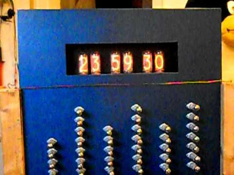 All tube Nixie Tube clock