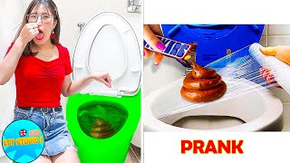 CRAZY APRIL FOOL PRANKS ON FRIENDS || Cool And Funny DIY Pranks