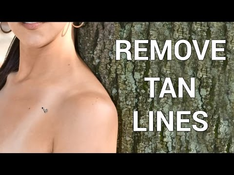 How to Remove Tan Lines in Photoshop