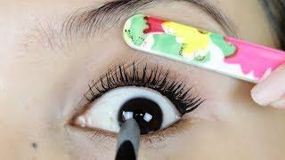 आखों को पलके बड़ा दिखाने के 3 अनोखे तरीके /#3 tricks to make your eyelashes longer & voluminous